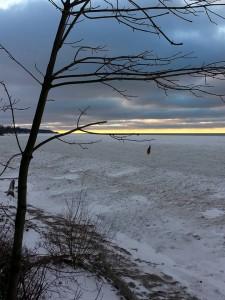 January Winter Sunset....Frozen Sunset 3